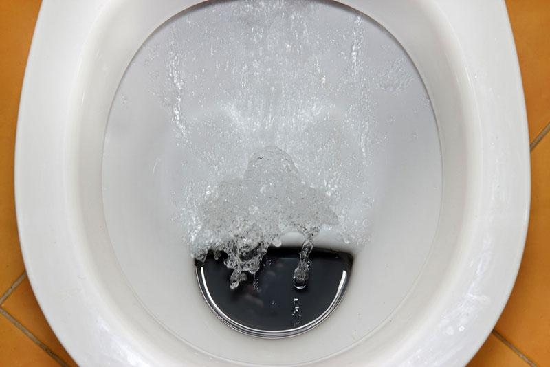 Laufende Toilettenspülung 1