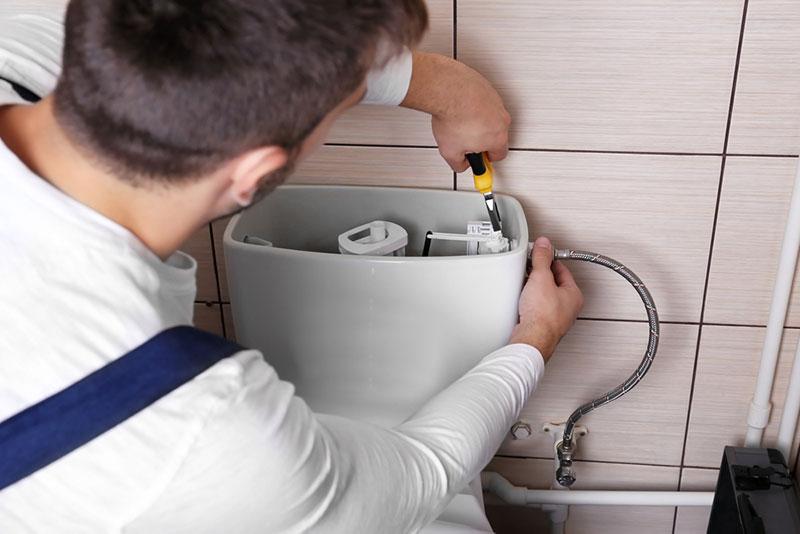 Laufende Toilettenspülung 2